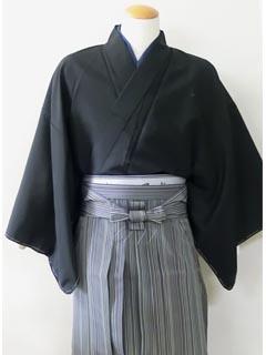 男の着物に袴の着姿