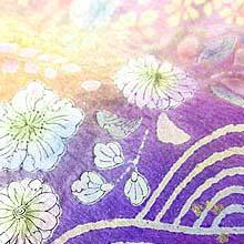 着物の文様-辻が花