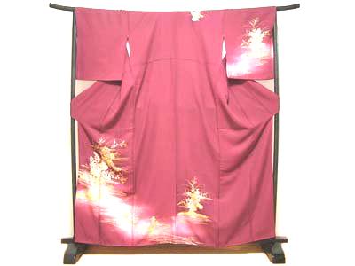 着物 付下げ訪問着/kimono tukesagehoumongi